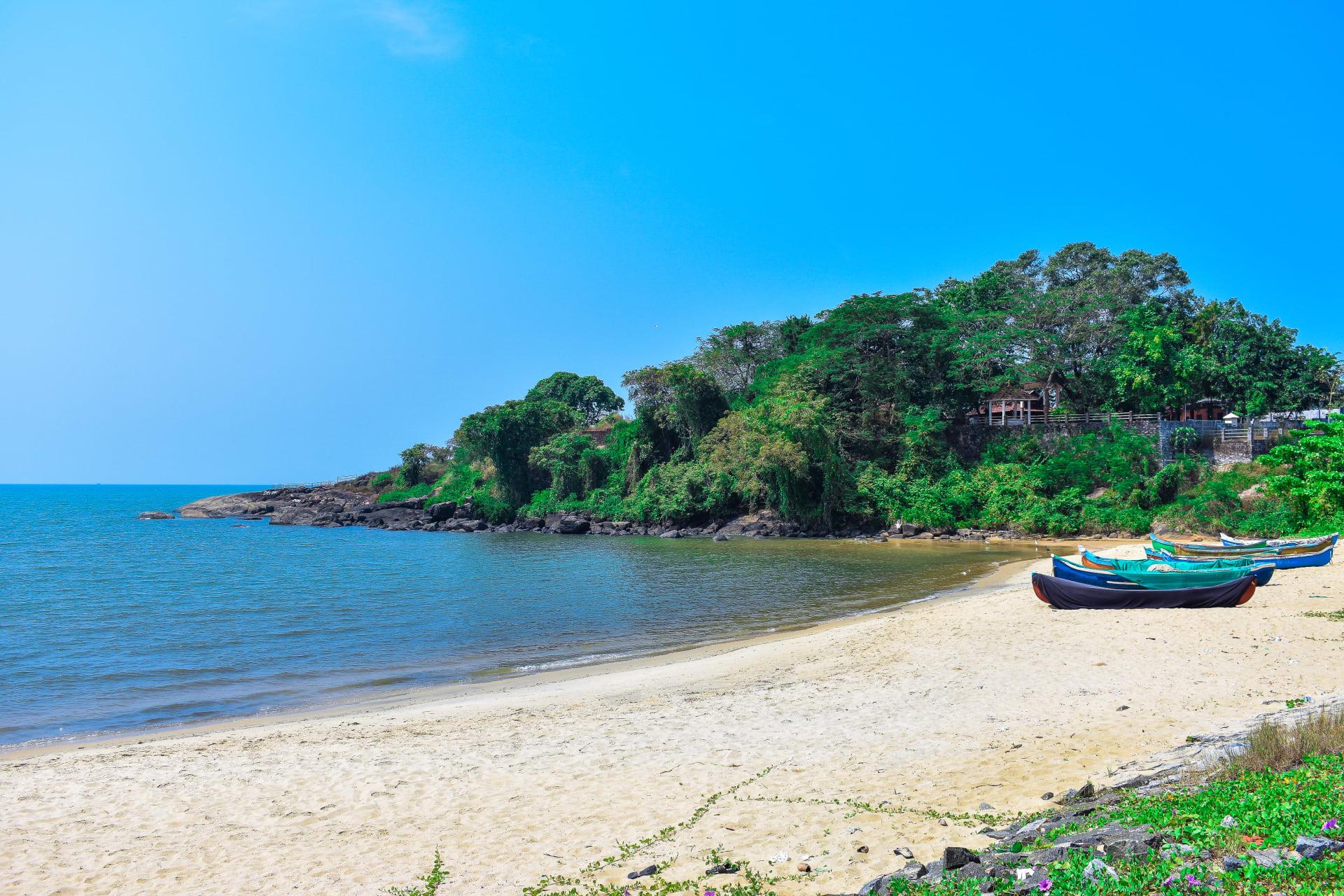 Kerala - Kerala; Kappad Beach; Historic location where Vasco Da Gama Landed