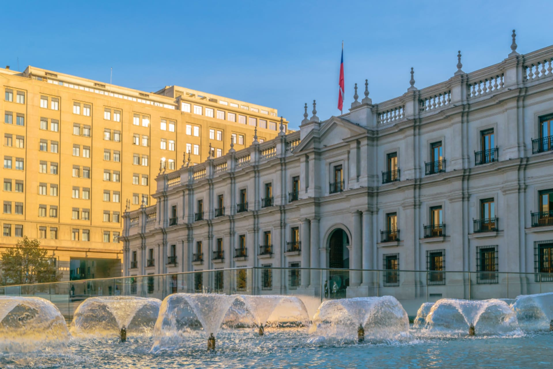Santiago - Civic District, History and Current Events