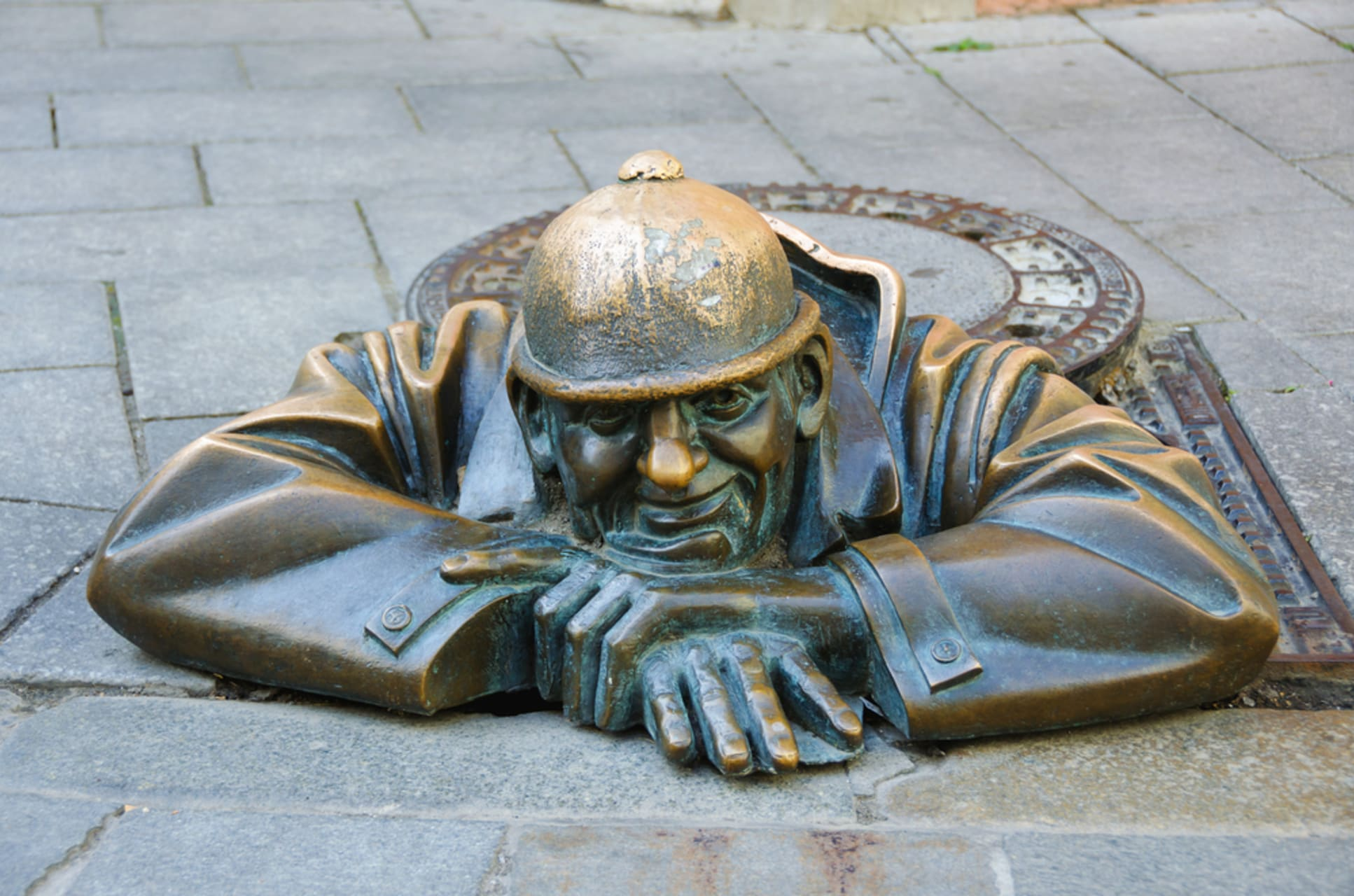 Bratislava - Old Town and its Statues: And what about the Naked Ones?