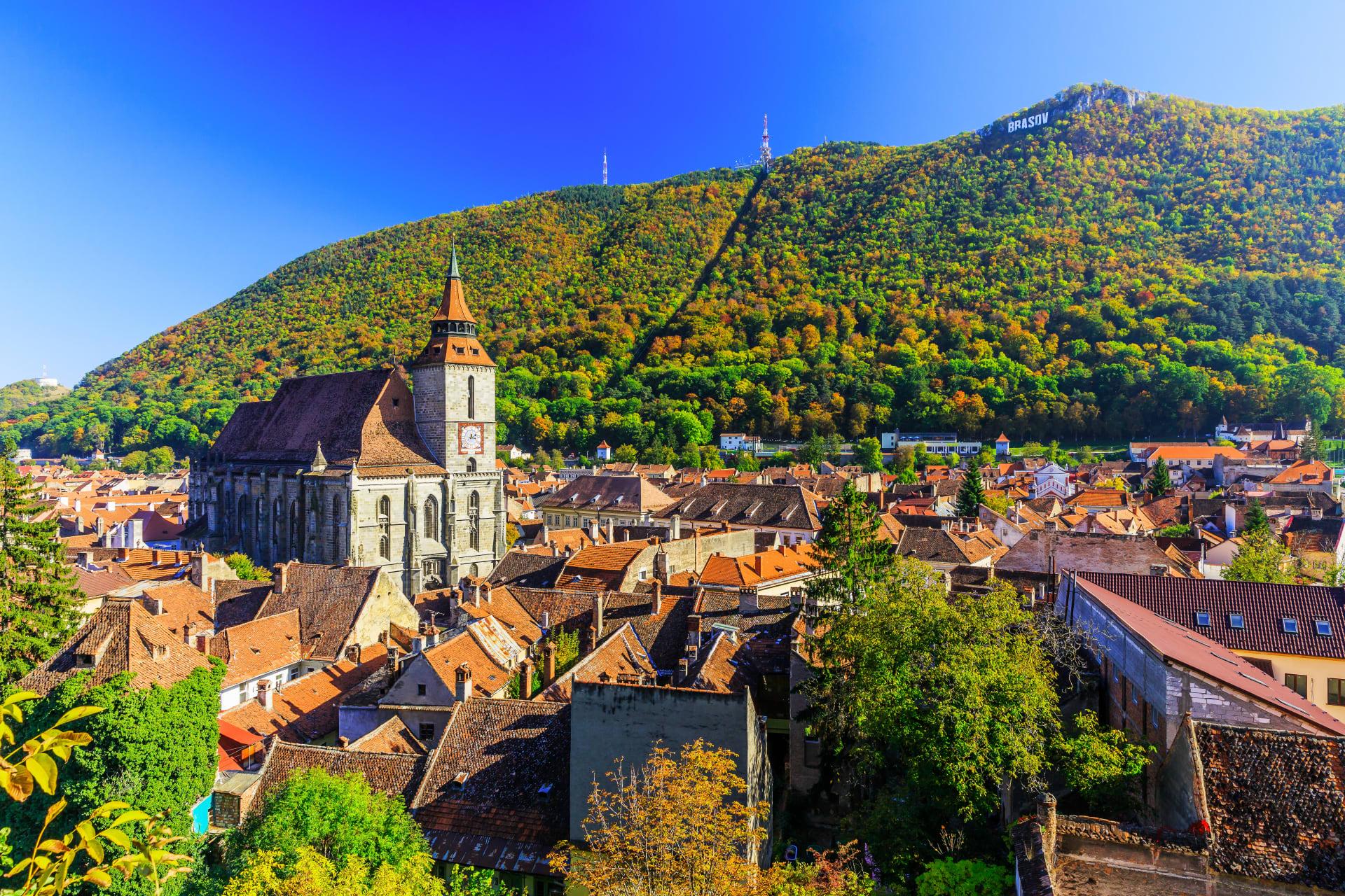 Transylvania - The medieval city of Brasov, the Crown of Transylvania