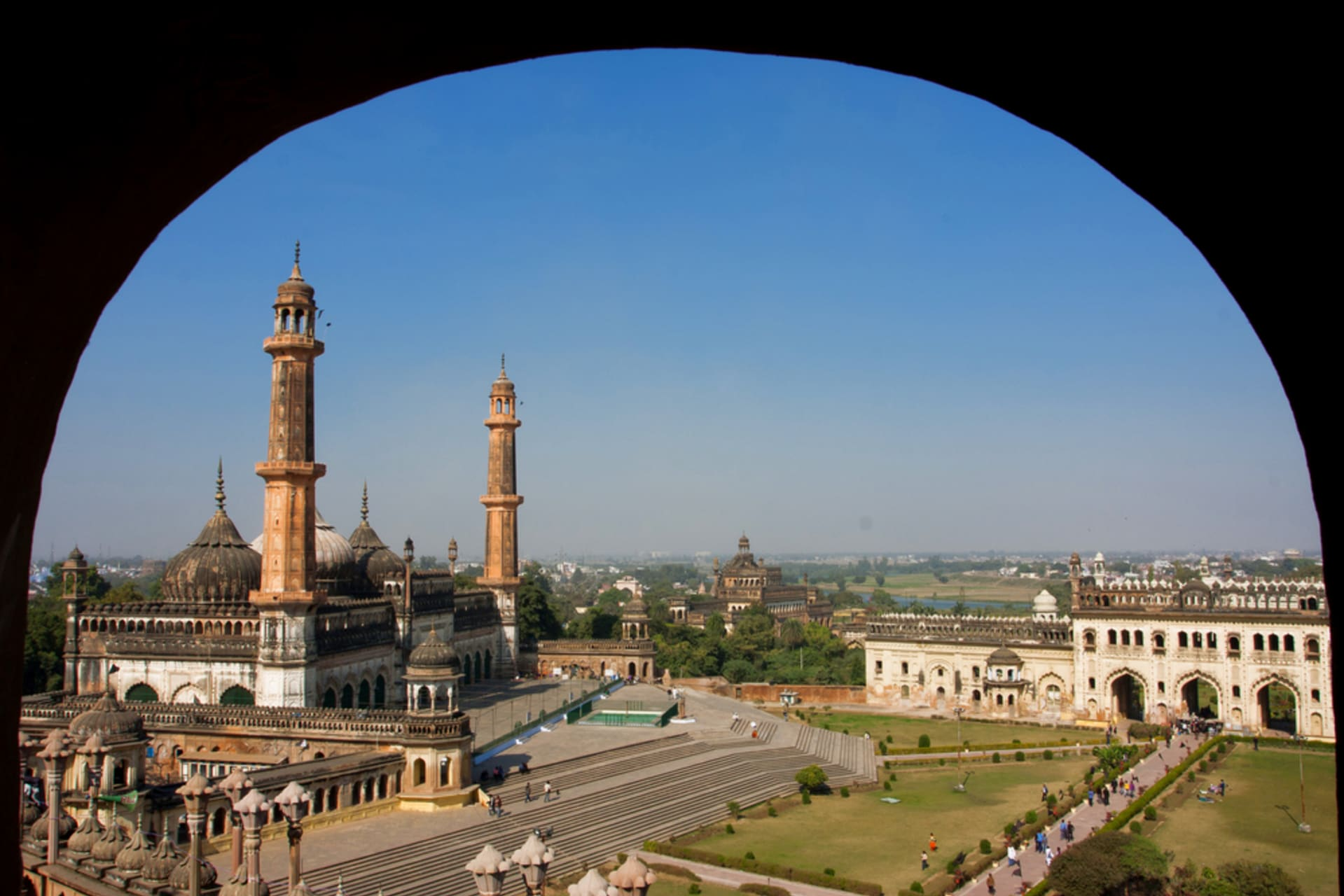 "Lucknow - Land of Tehzeeb (Etiquette)  &  Birth place of ""BIRYANI"""