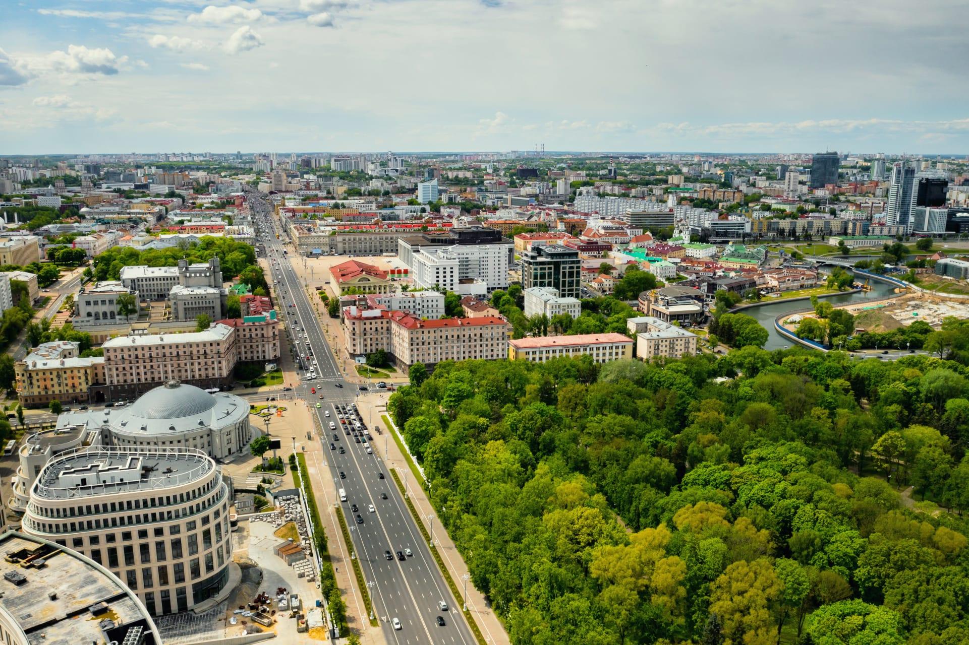 Minsk - Minsk-Soviet Heritage-Stalinist Empire Style