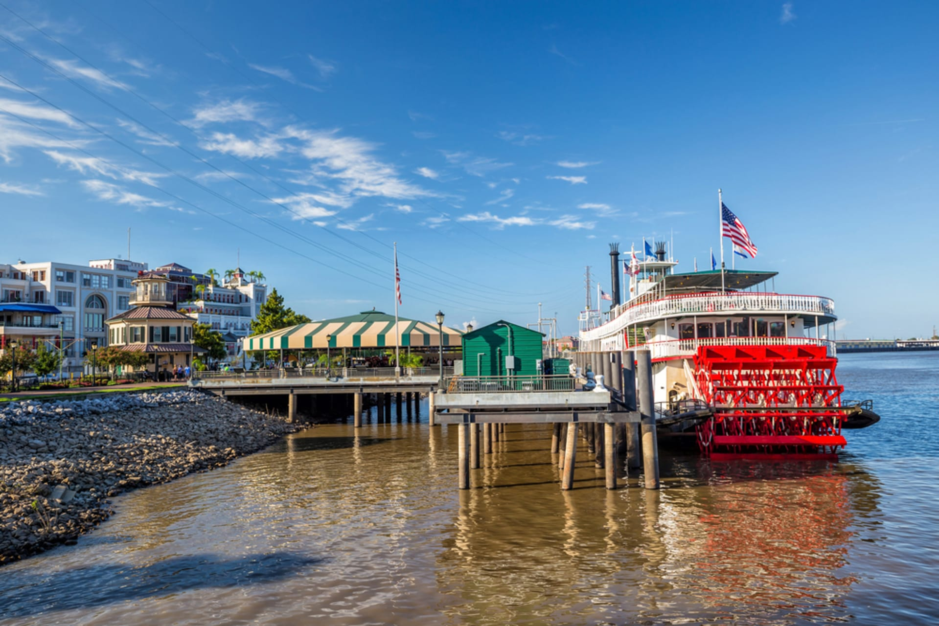 New Orleans - Strolling Along The Mississippi River: How a swamp was turned into a destination