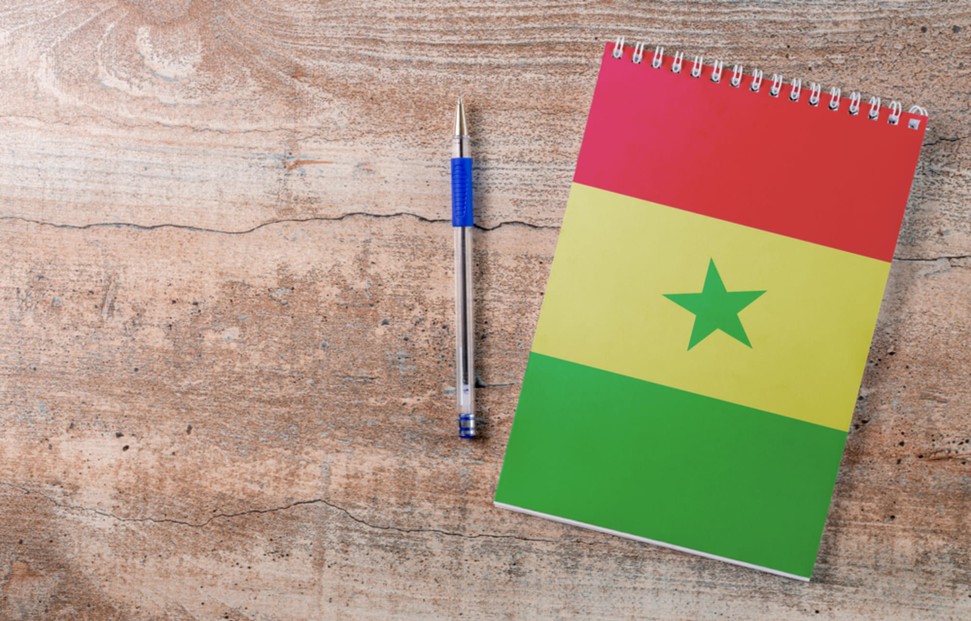 Mbour - Learning English in Senegalese public middle school