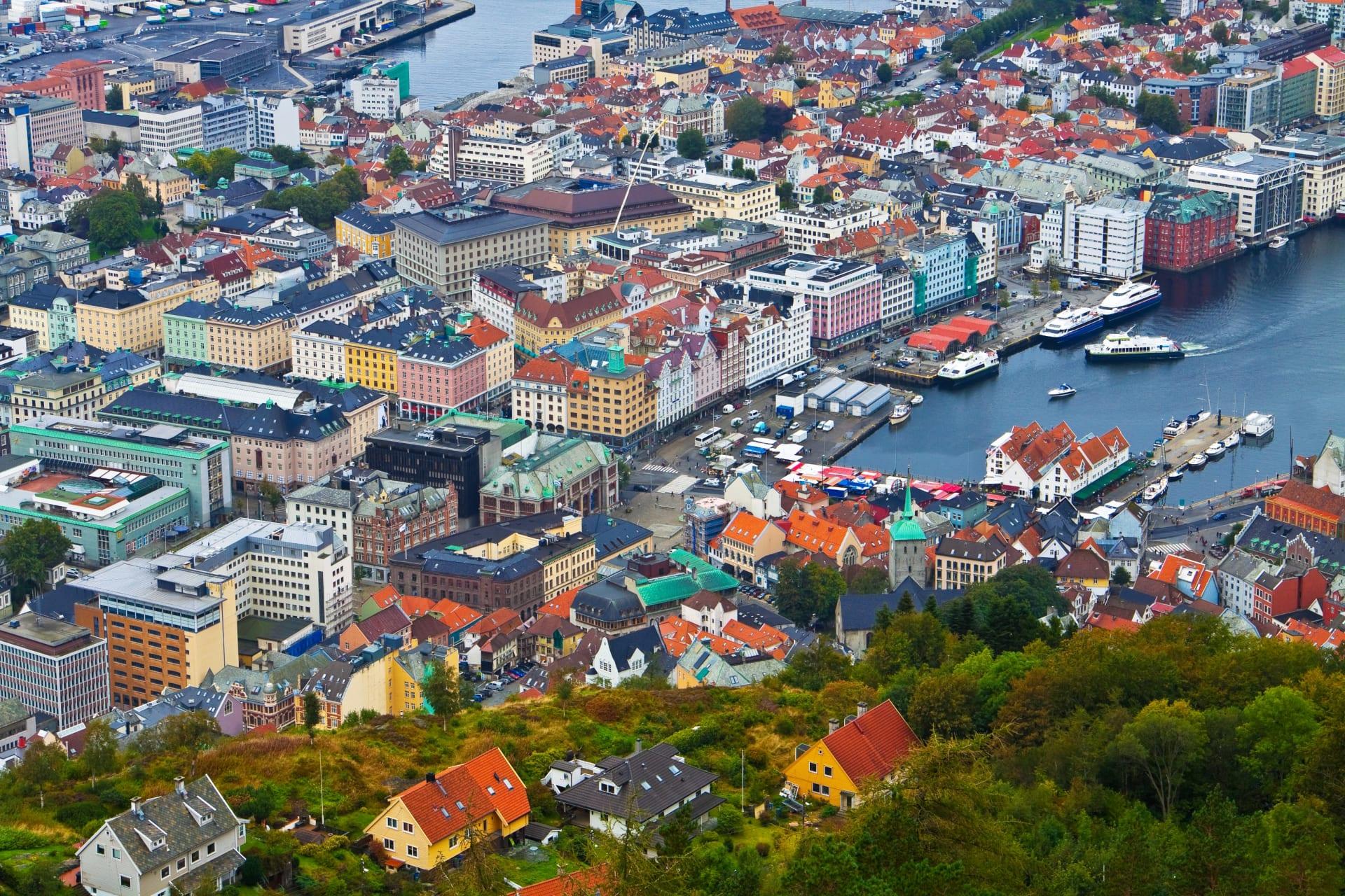 Bergen - The Seven Bergen Mountains Walk
