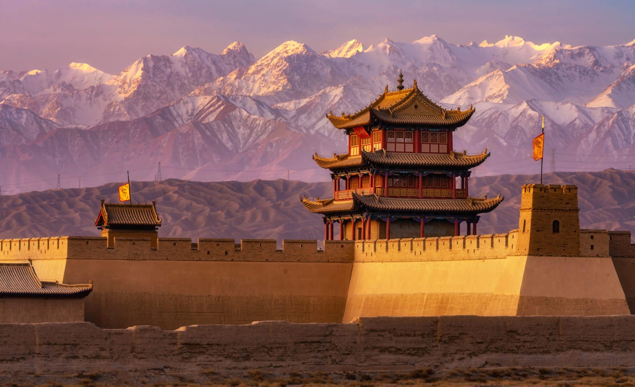 Hexi Corridor (China's Silk Road) - Jiayuguan Fortress: The Ming-period Great Wall Silk Road Protector