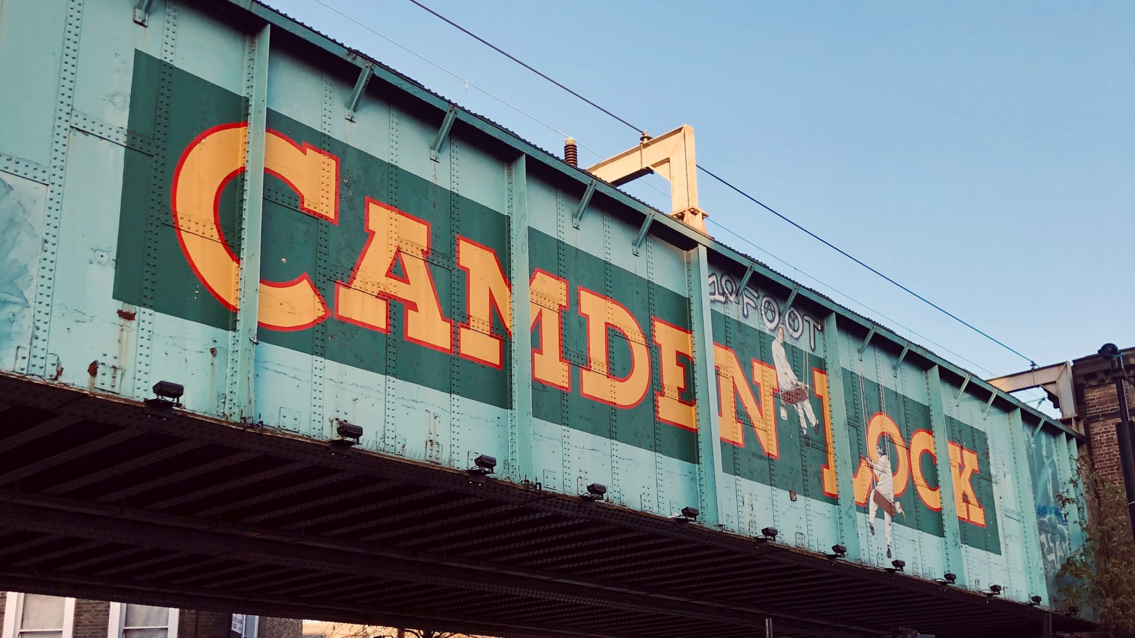 London - Camden Town: from Amy Winehouse to Punk Subculture and Graffiti War...