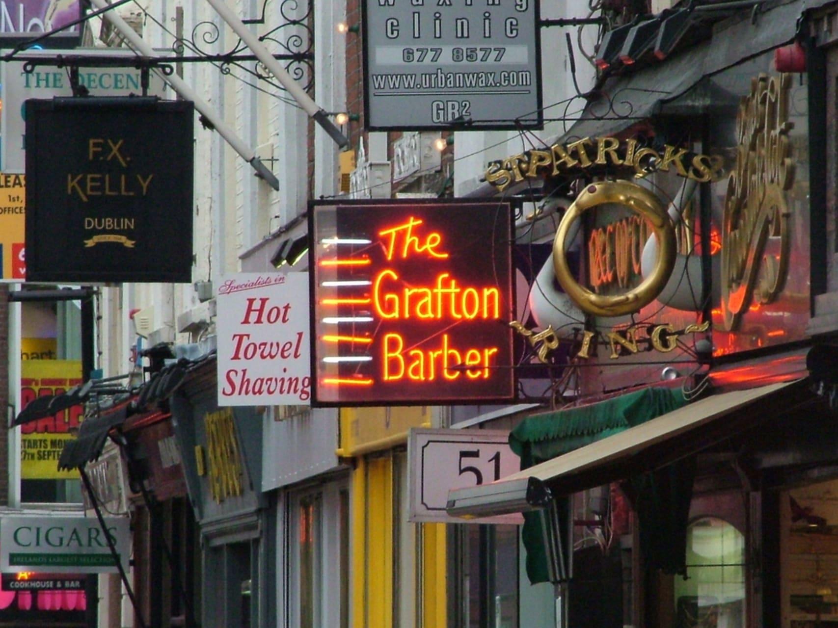 Dublin - Grafton Street - Dublin's most fashionable Street