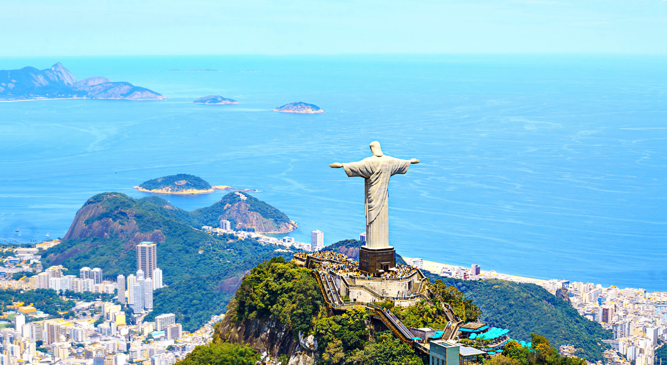 Rio de Janeiro - One of the 7 New Wonders of the World: Christ the Redeemer!