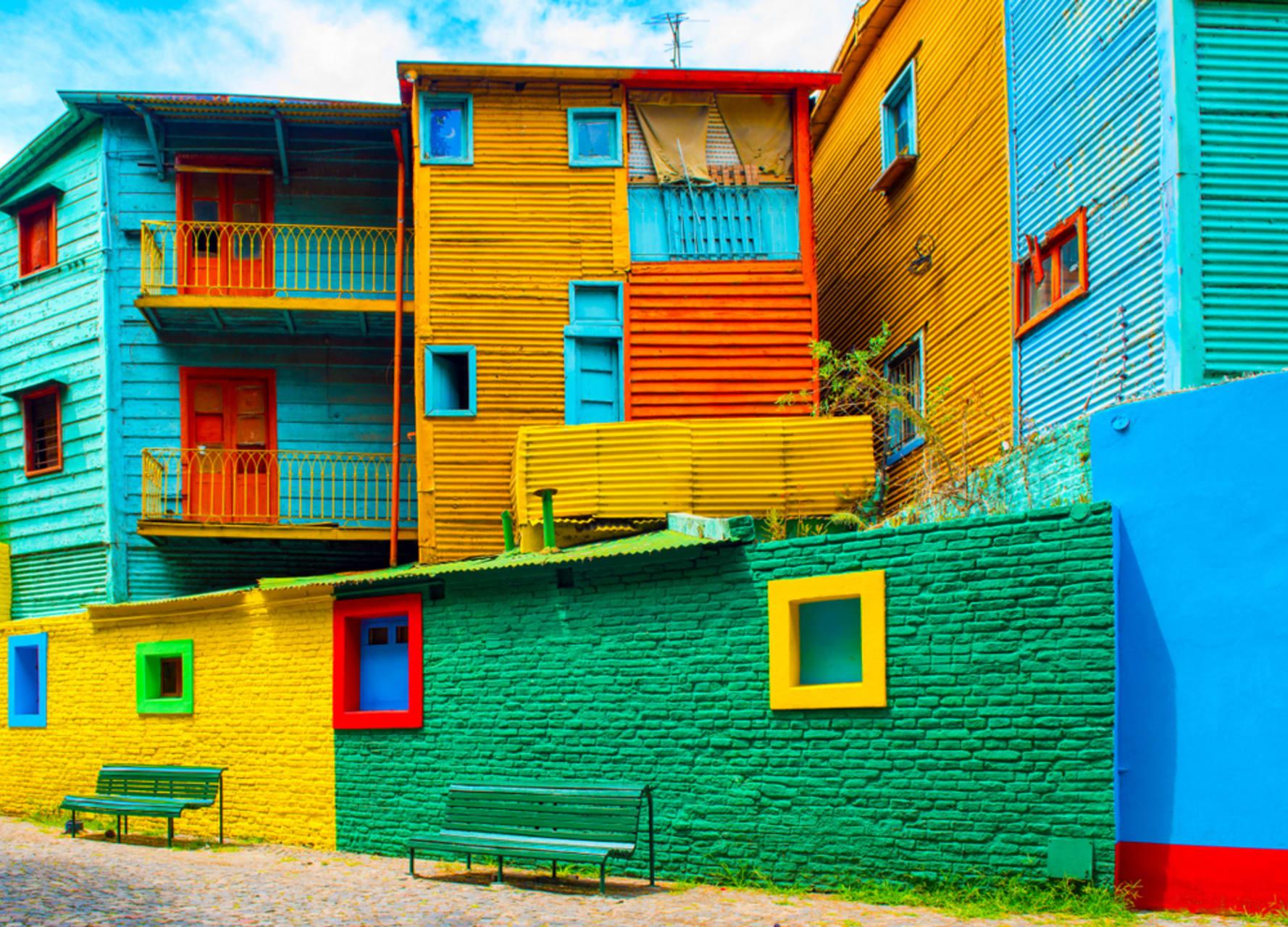 Buenos Aires - Buenos Aires: Caminito at La Boca, Tango and Colours