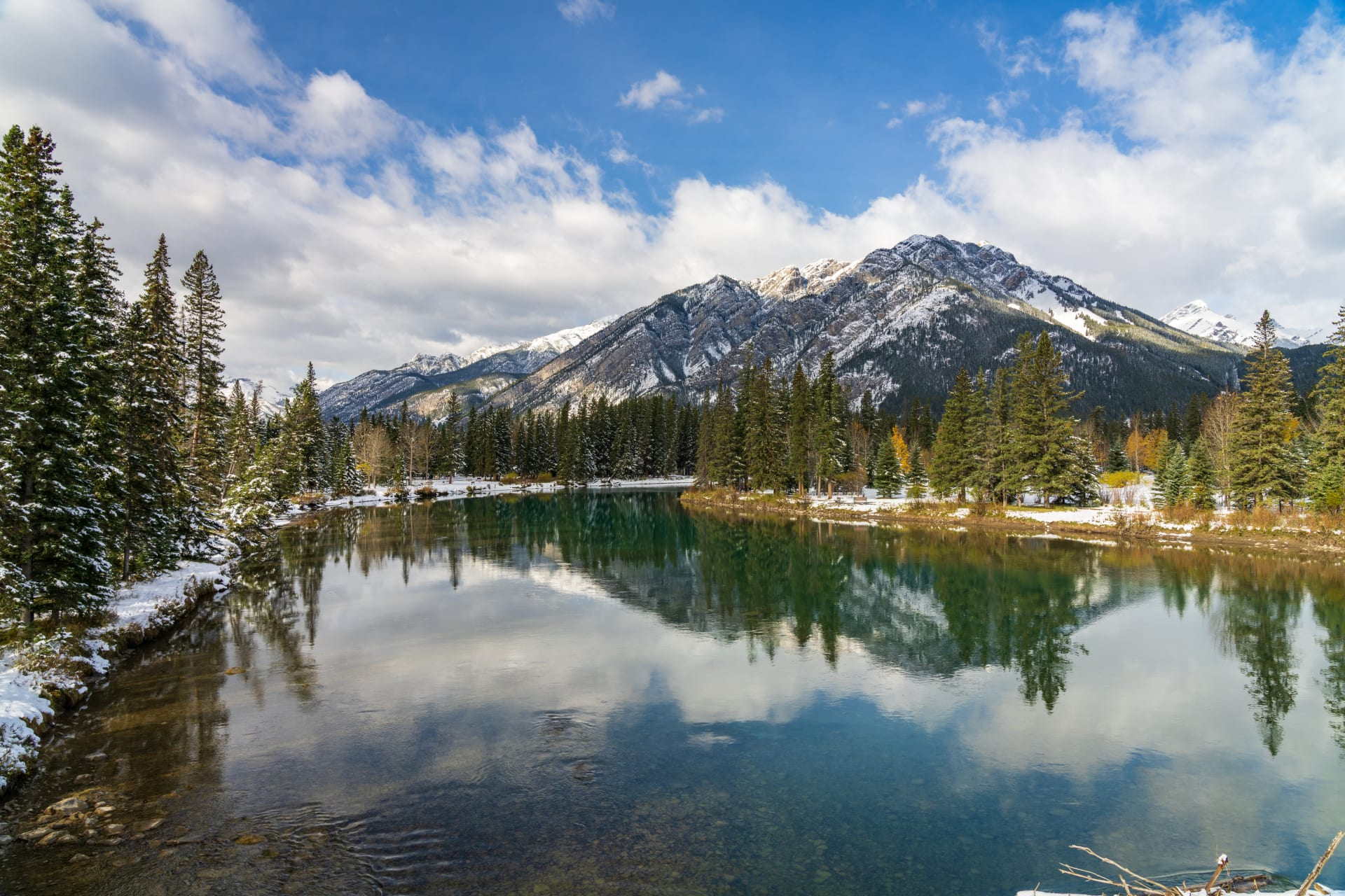 Banff - The breathtaking views of Mount Norquay from its famous sightseeing chairlift