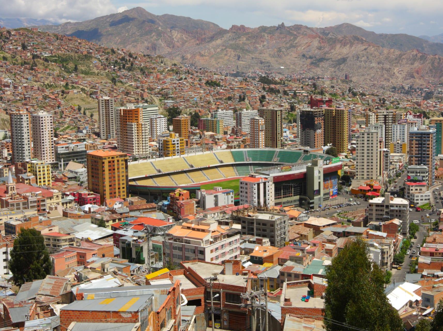 La Paz - La Paz Viewpoint: Killi Killi