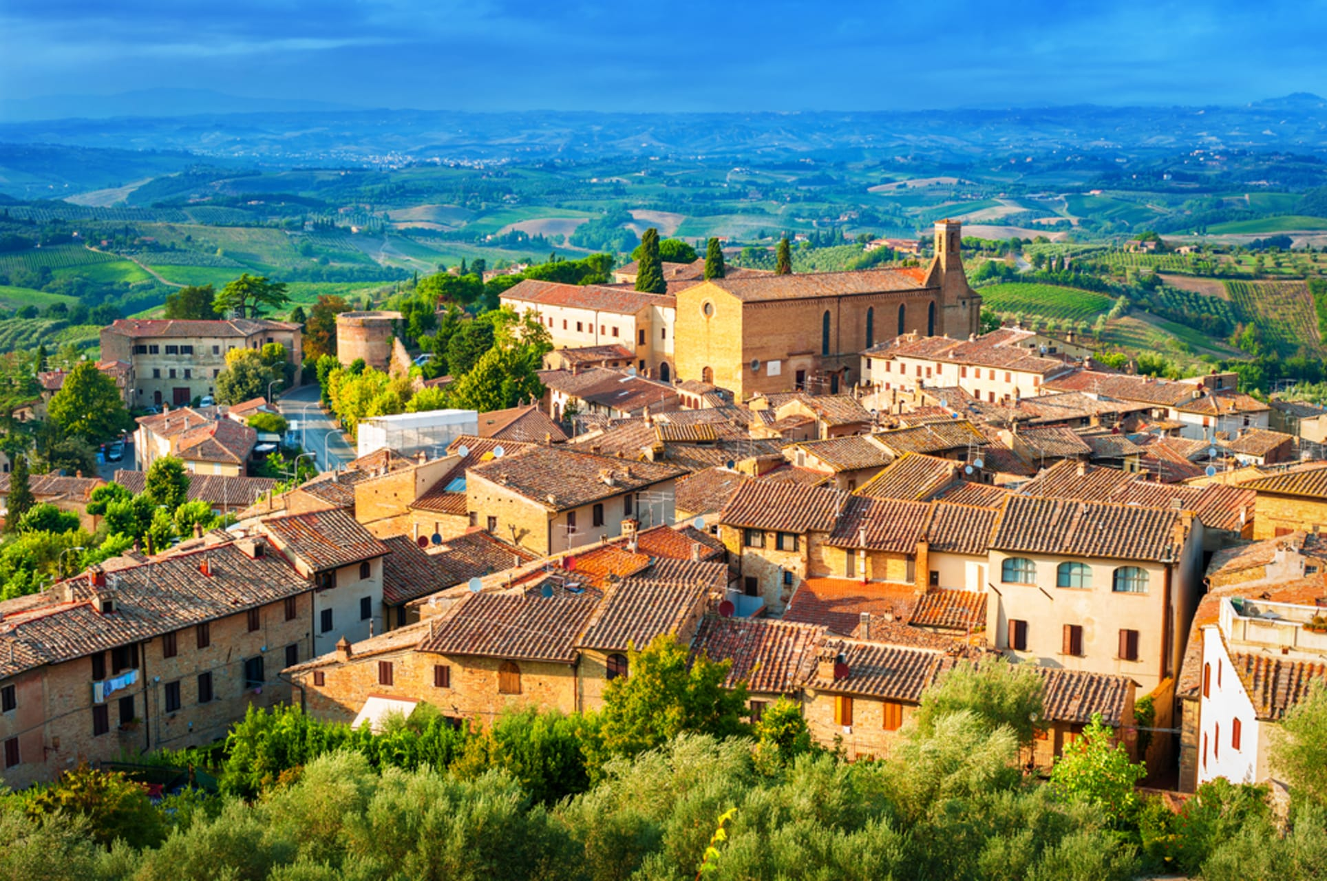 San Gimignano - The Manhattan of the Middle Ages