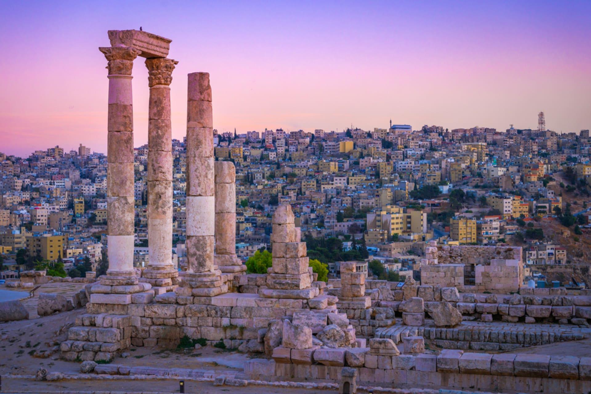Amman - Mountain of Amman's Citadel