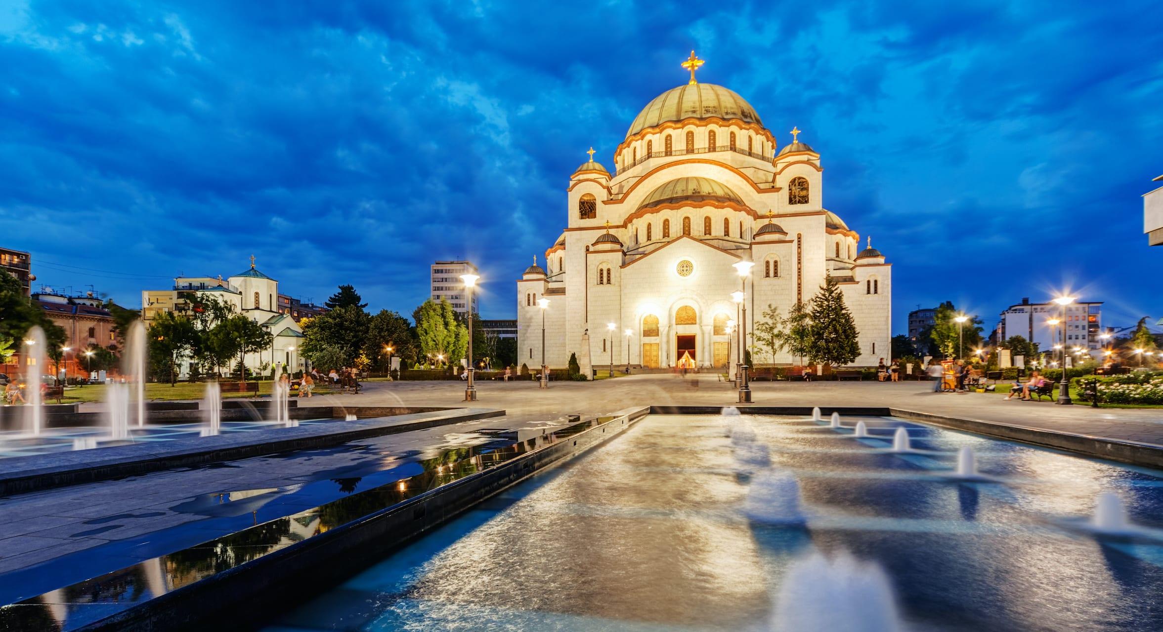 Belgrade - Serbian Orthodox Mega-Structure: Cathedral of Saint Sava