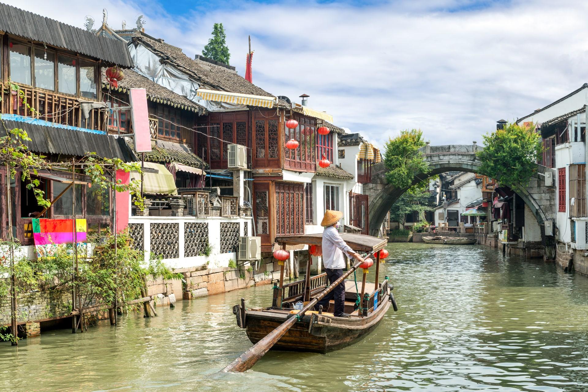 Shanghai - China Ancient Water Town: Exploring Zhujiajiao
