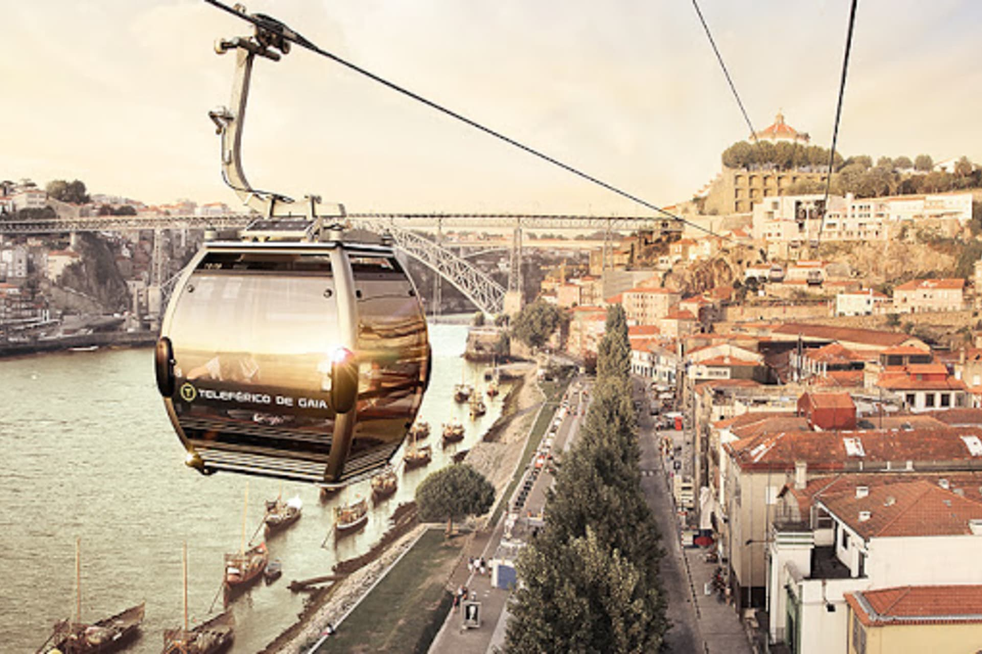 Gaia - Let's Go on the Cable Car?