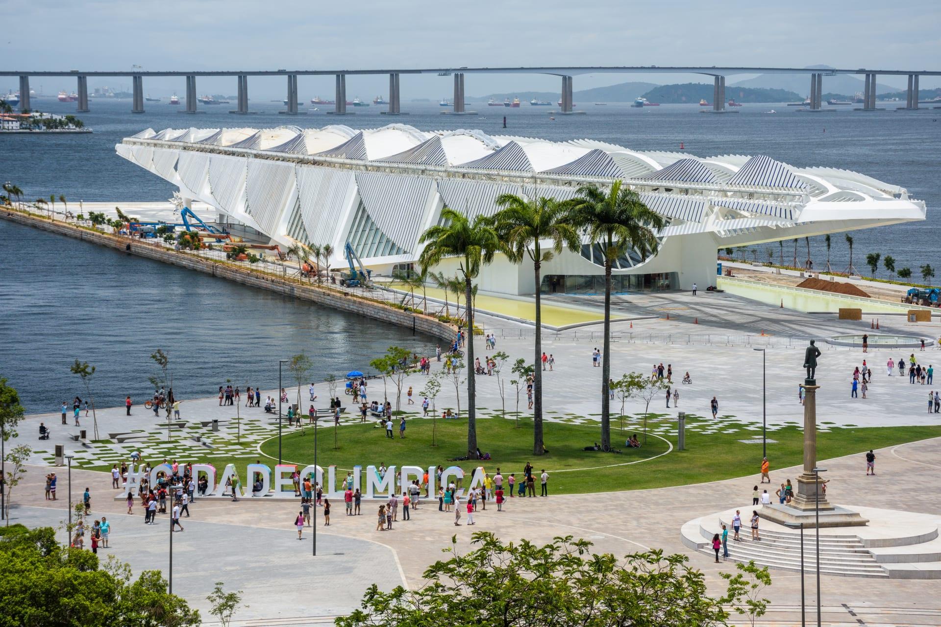 Rio de Janeiro - Marvelous Port – Street Art and Architecture – UNESCO World Capital of Architecture