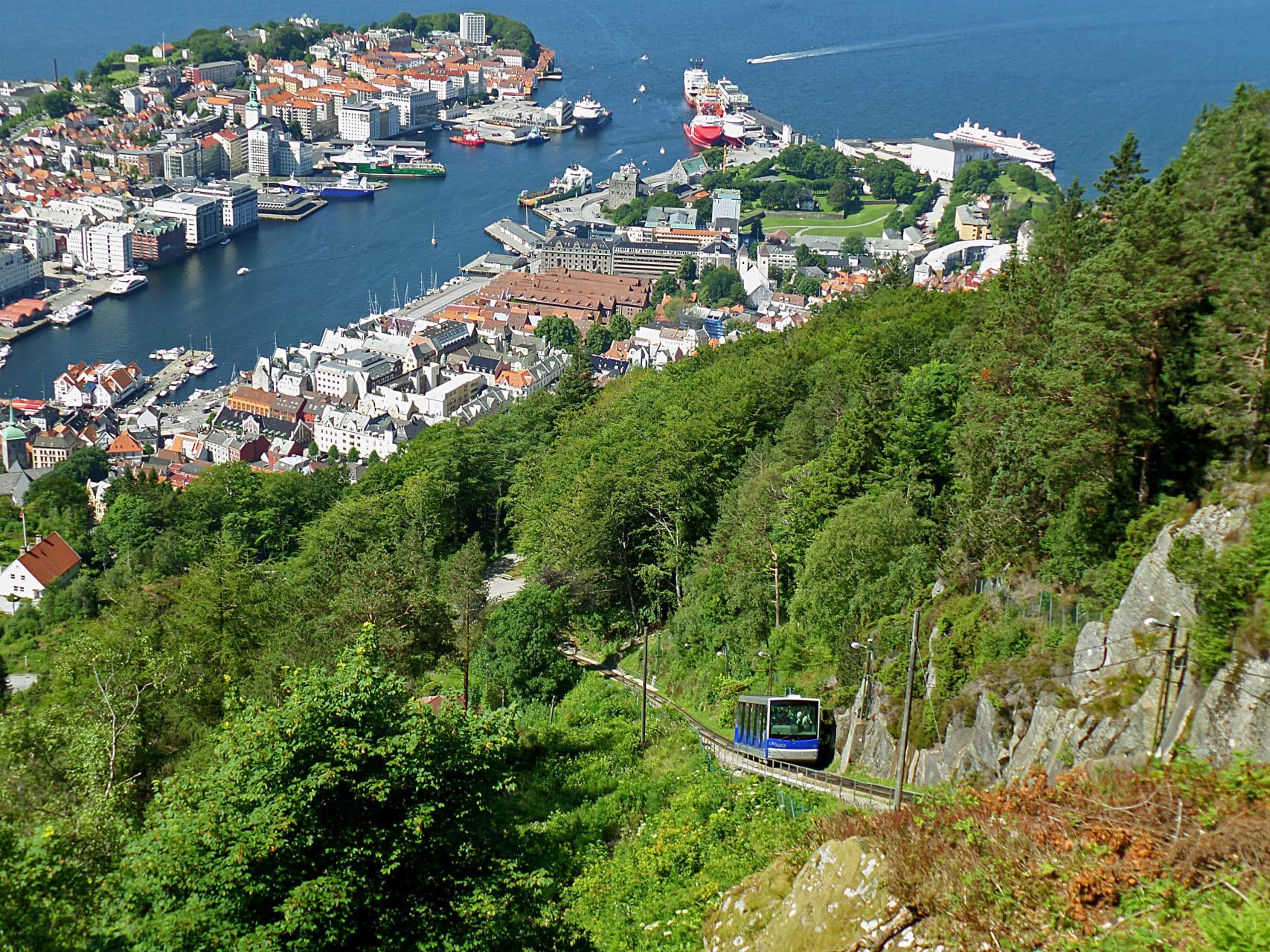 Bergen - History & Nature Along Bergen's Hillside