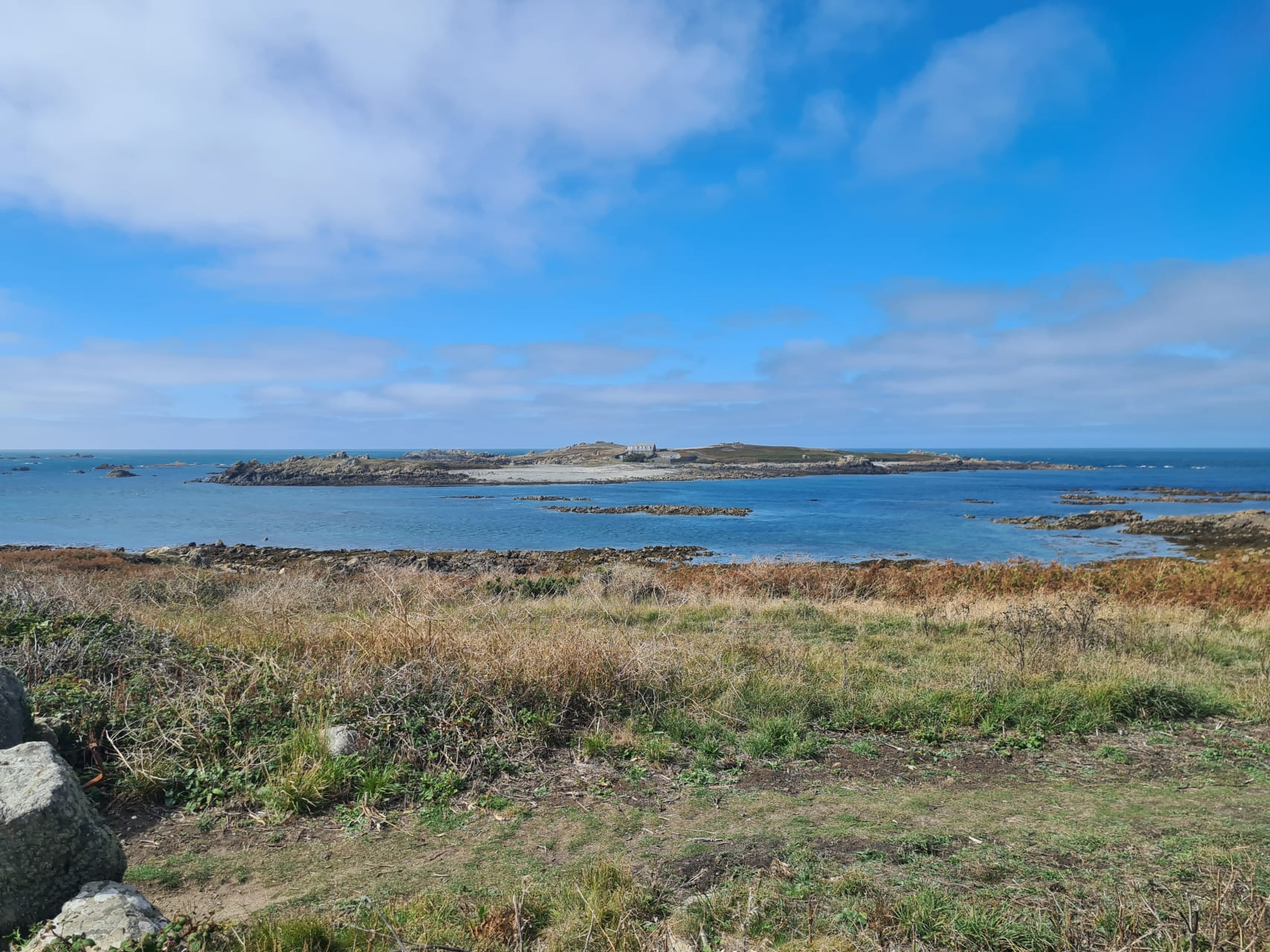 Guernsey - Lihou Island, the Most Westerly Channel Island
