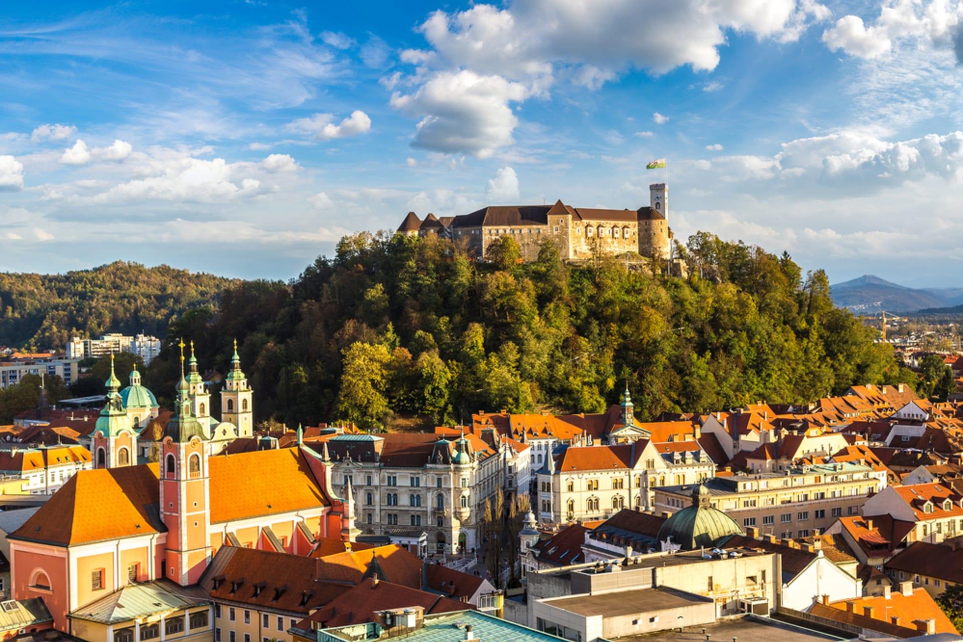 Ljubljana - Castle Hill