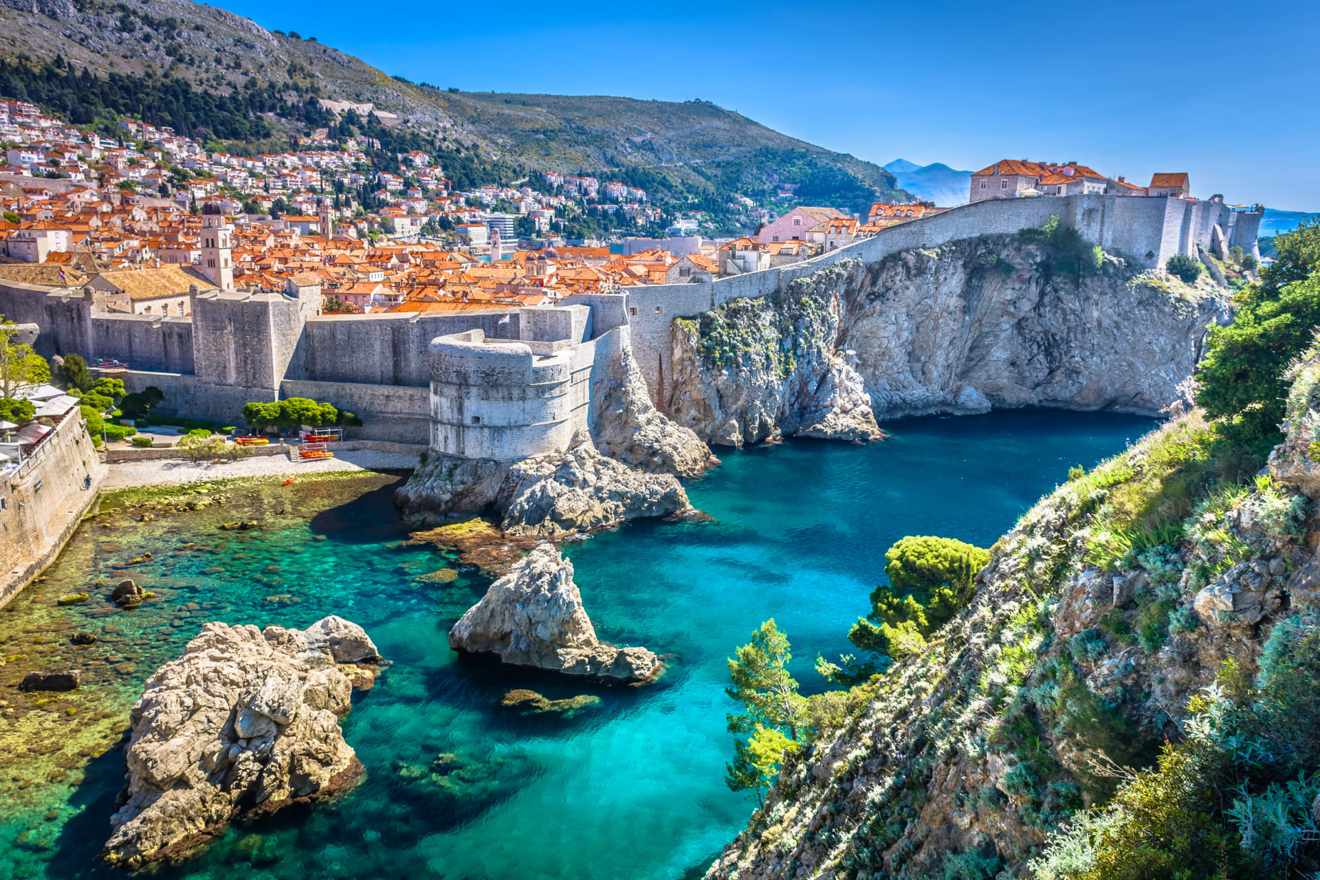 Dubrovnik - Old Town Wall Walk, Part 2 (south side)