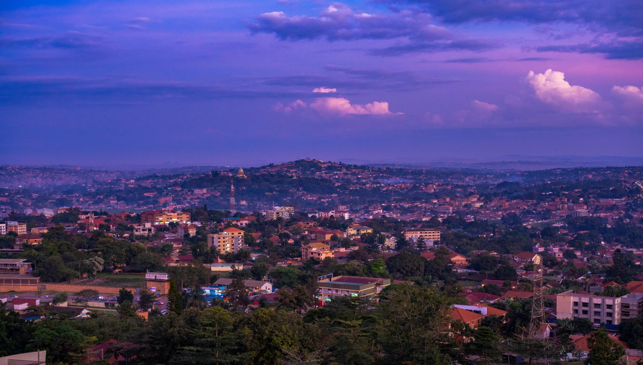 Kampala - Hiking Around All Kampala Summit Hills