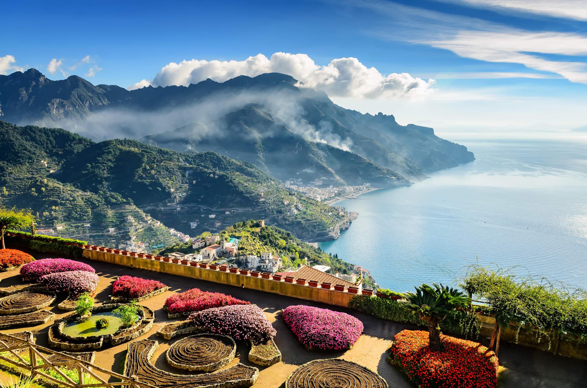 Amalfi Coast - Ravello at the Amalfi Coast: The Unesco City of Music