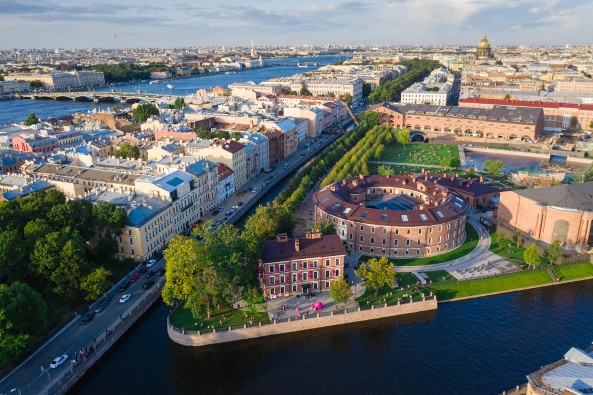 Saint Petersburg - Pearls of the Moyka River