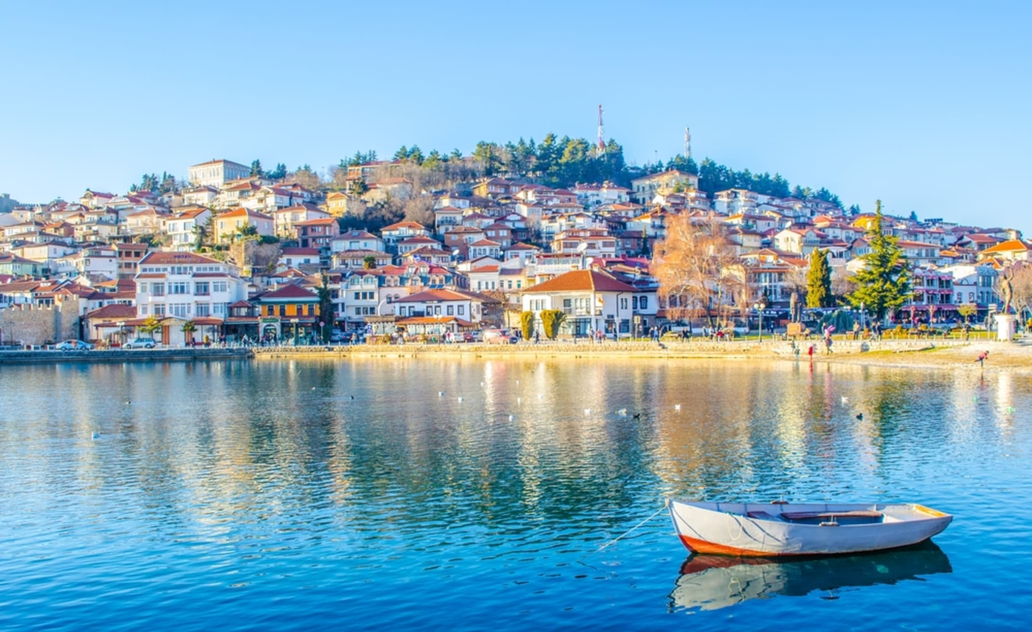 Ohrid - Old town of Ohrid - The Colorful Lake Site