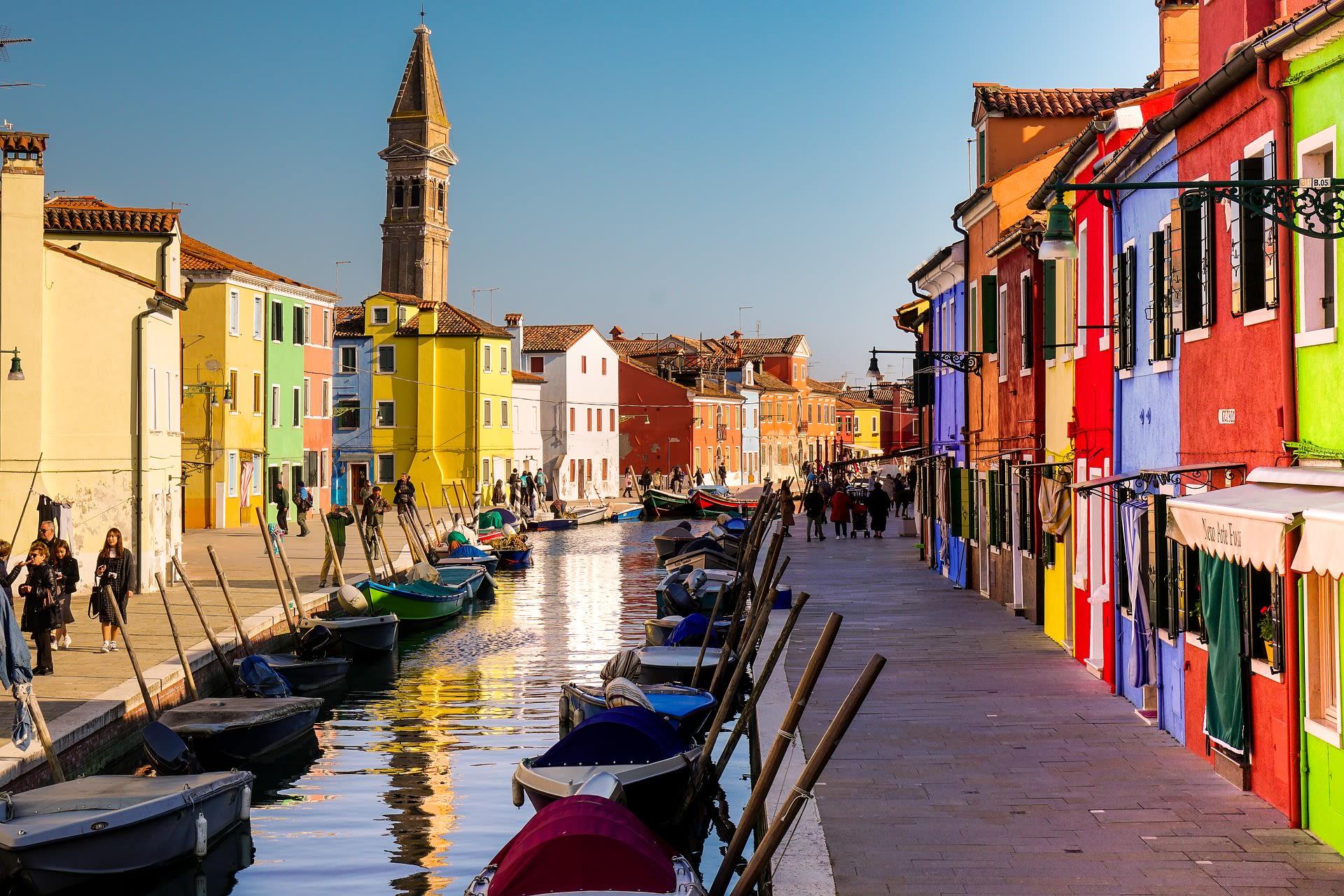 Veneto - Burano - The Colorful Island