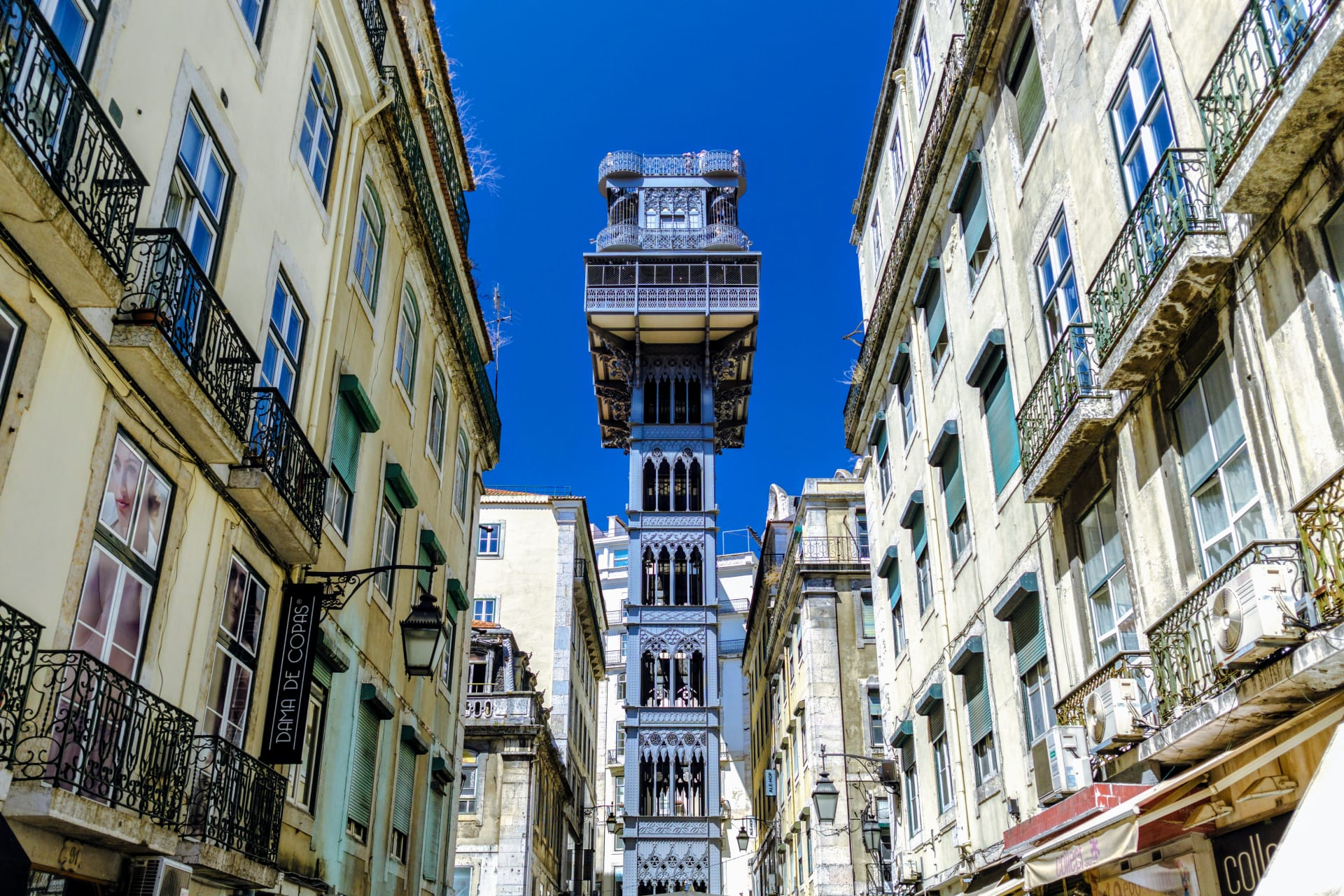 Lisbon - Ginjinha Stores, Jewish Roots, and Santa Justa Lift