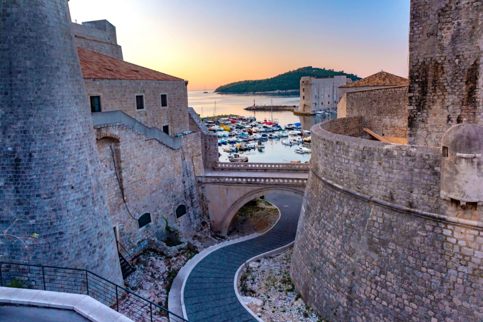 Dubrovnik - Dubrovnik Old Town Wall Walk