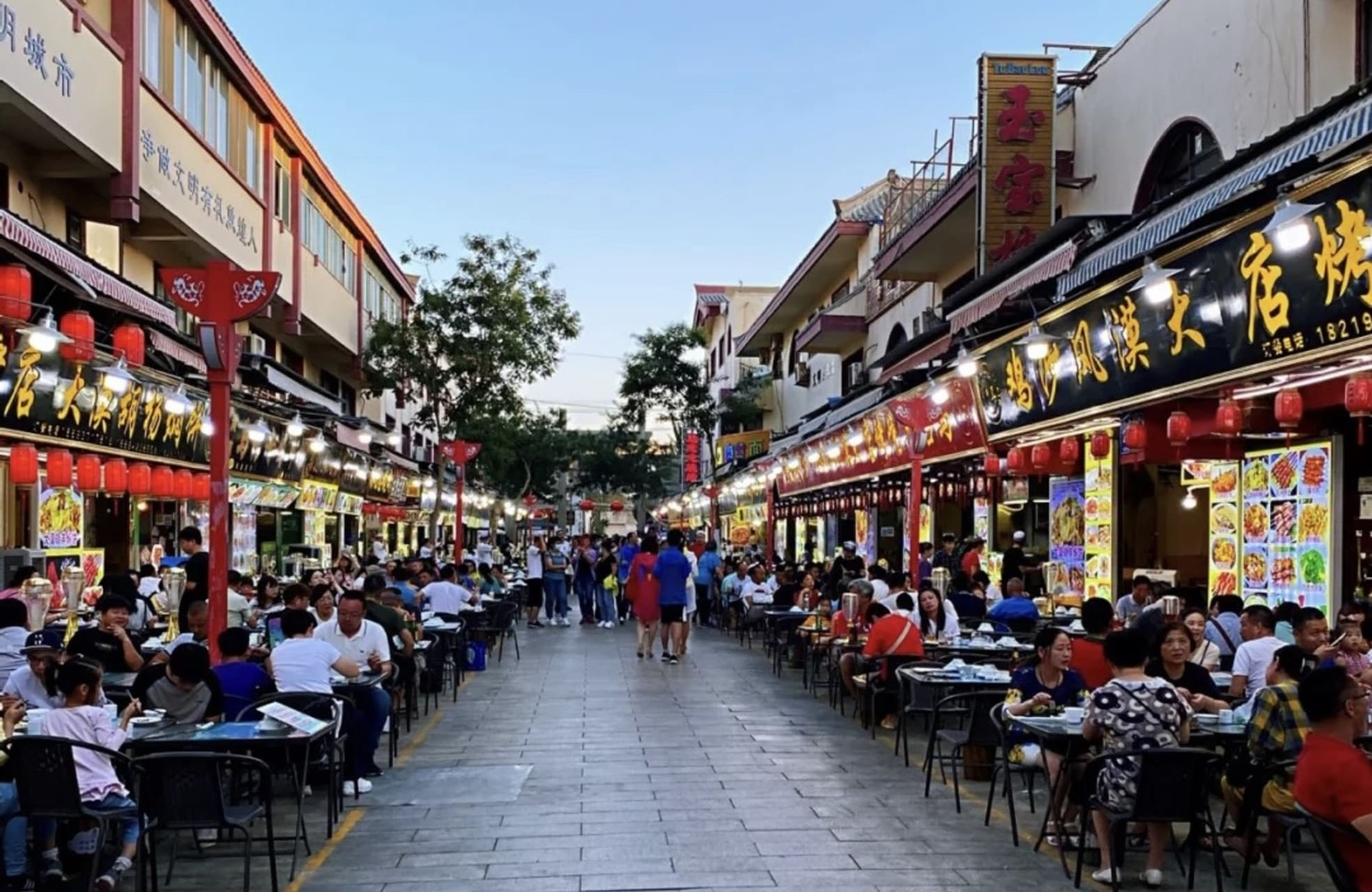 Hexi Corridor (China's Silk Road) - Dunhuang Night Market: Today's Update to a Silk Road Oasis