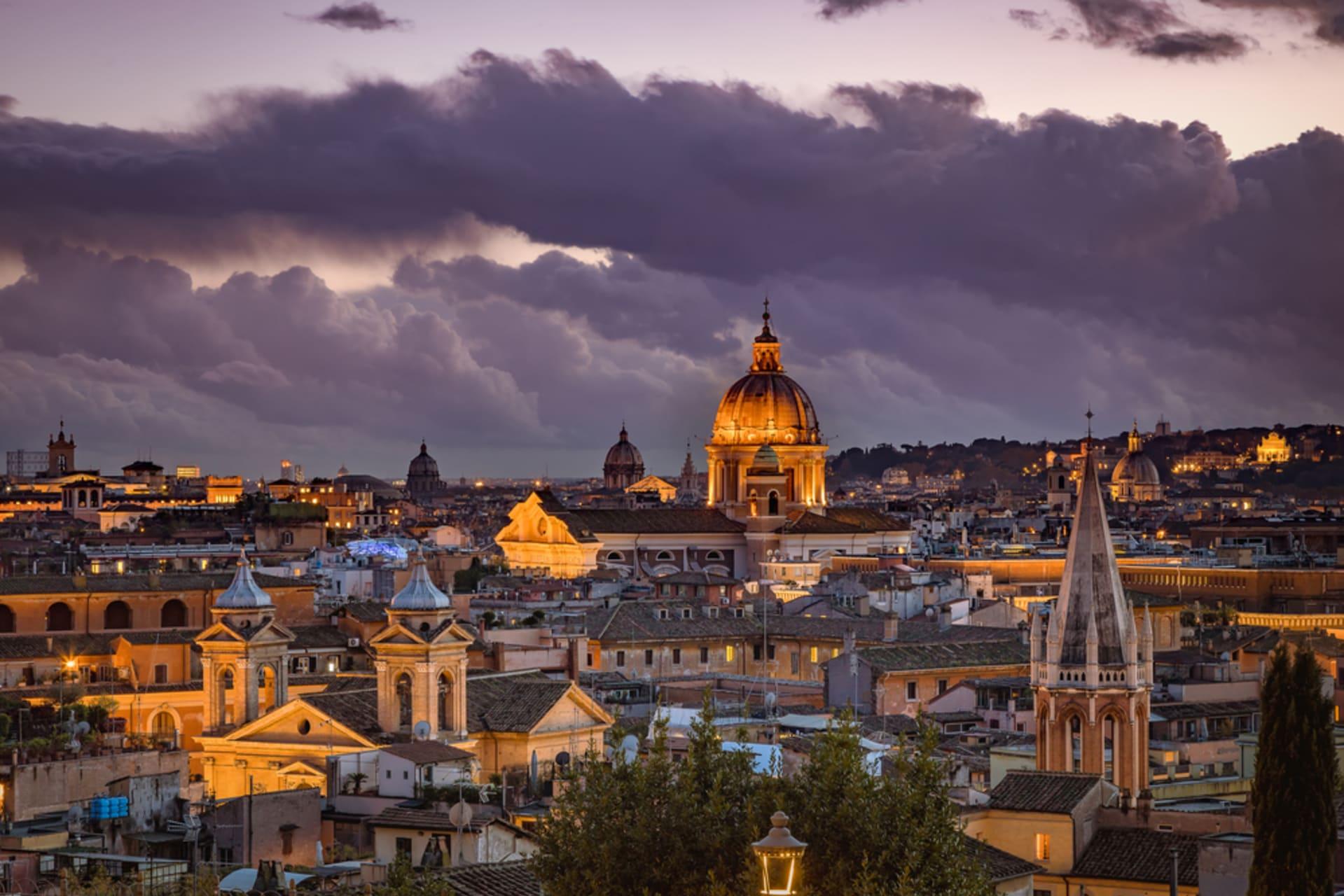 Rome - Rome's most romantic views: from Terrazza del Pincio to Trinità de Monti