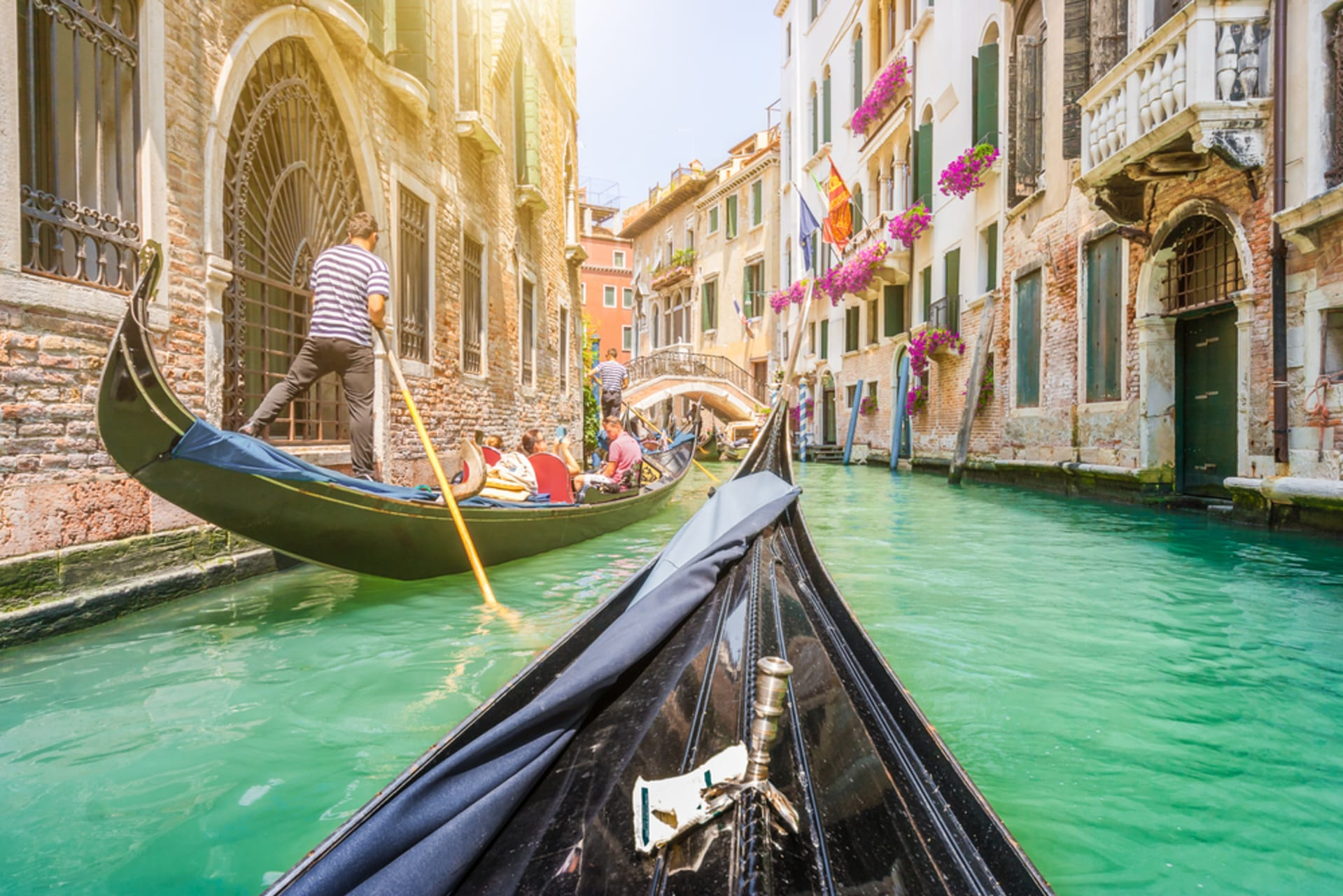 Venice - Romantic Gondola Ride Along The Grand Canal & The Small Canals