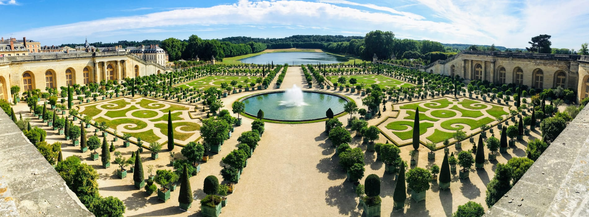 Paris - Gardens of Versailles