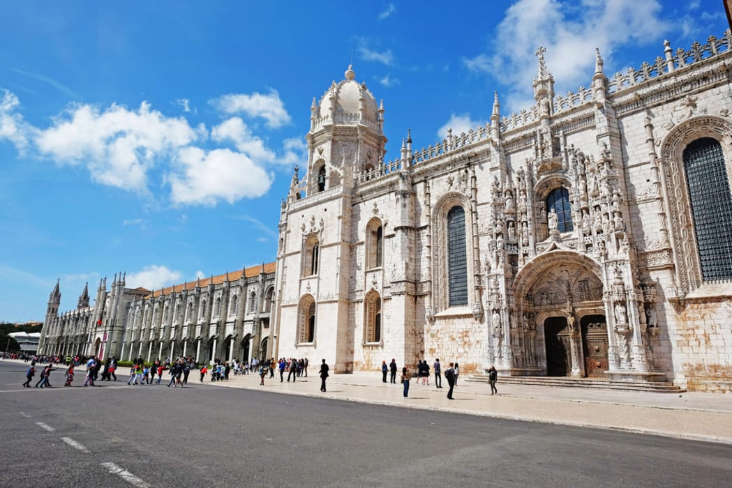 Lisbon - The magnificent Jerónimos Monastery, a 16th Century UNESCO Site