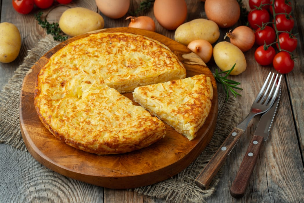 Pamplona - Cooking Class:  Spanish Potatoes Omelette