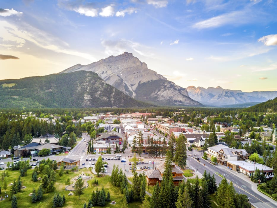 Banff - The Town of Banff