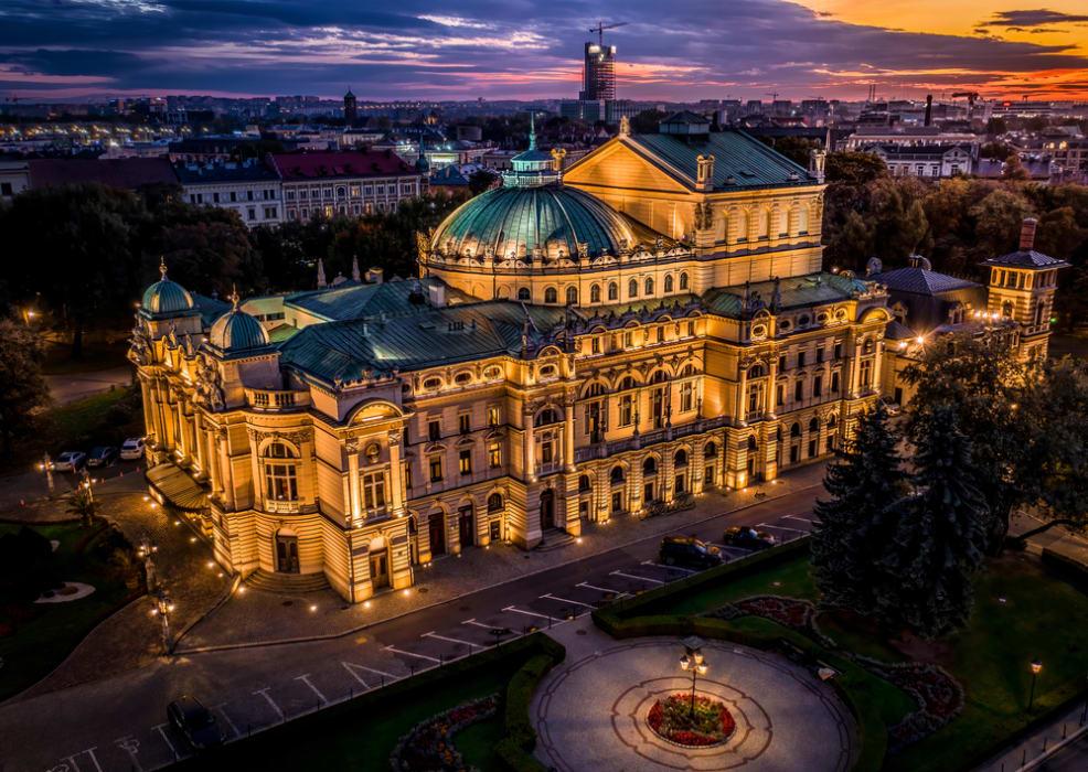 Krakow - Illuminated Kraków