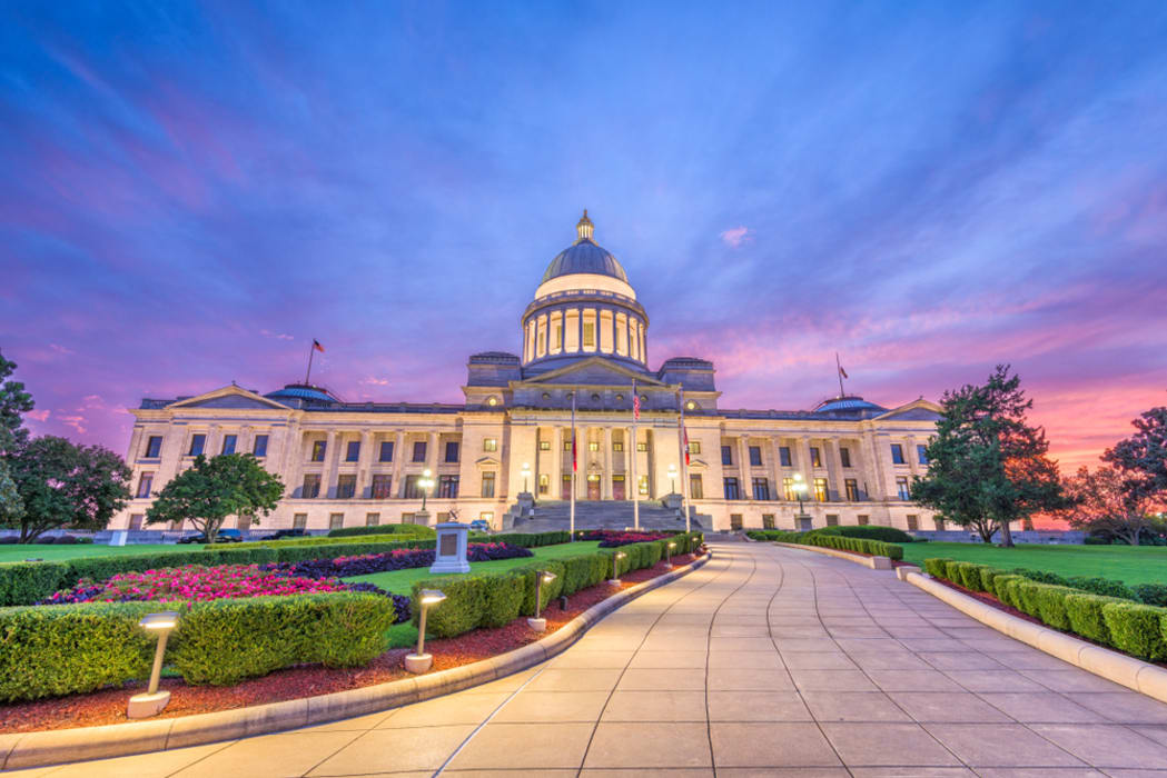 Little Rock - Arkansas State Capitol