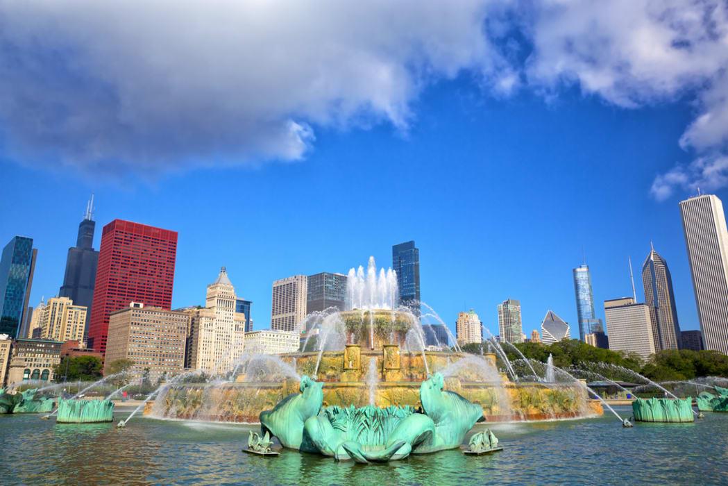 Chicago - North Grant Park and Millennium Park
