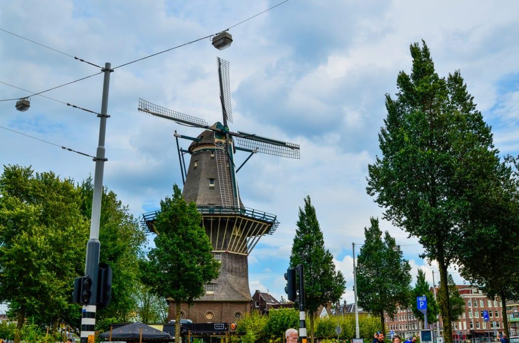 Amsterdam - Local Market & Windmill Brewery