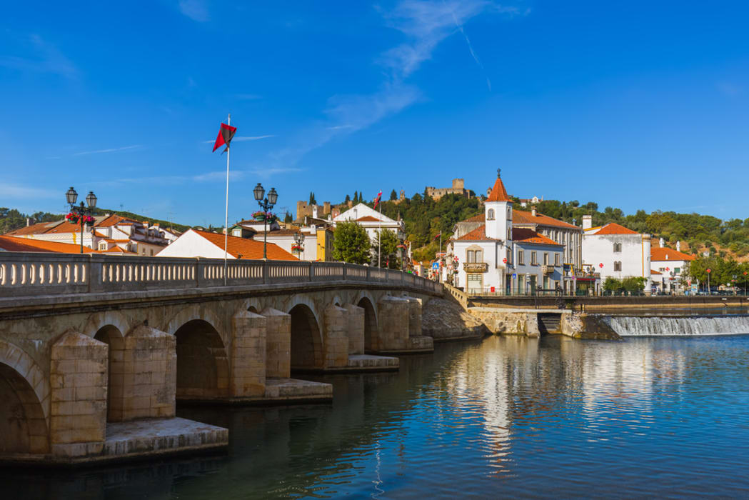 Tomar - Historical Center of Tomar: The Nabão river, Henry the Navigator and the Jewish presence