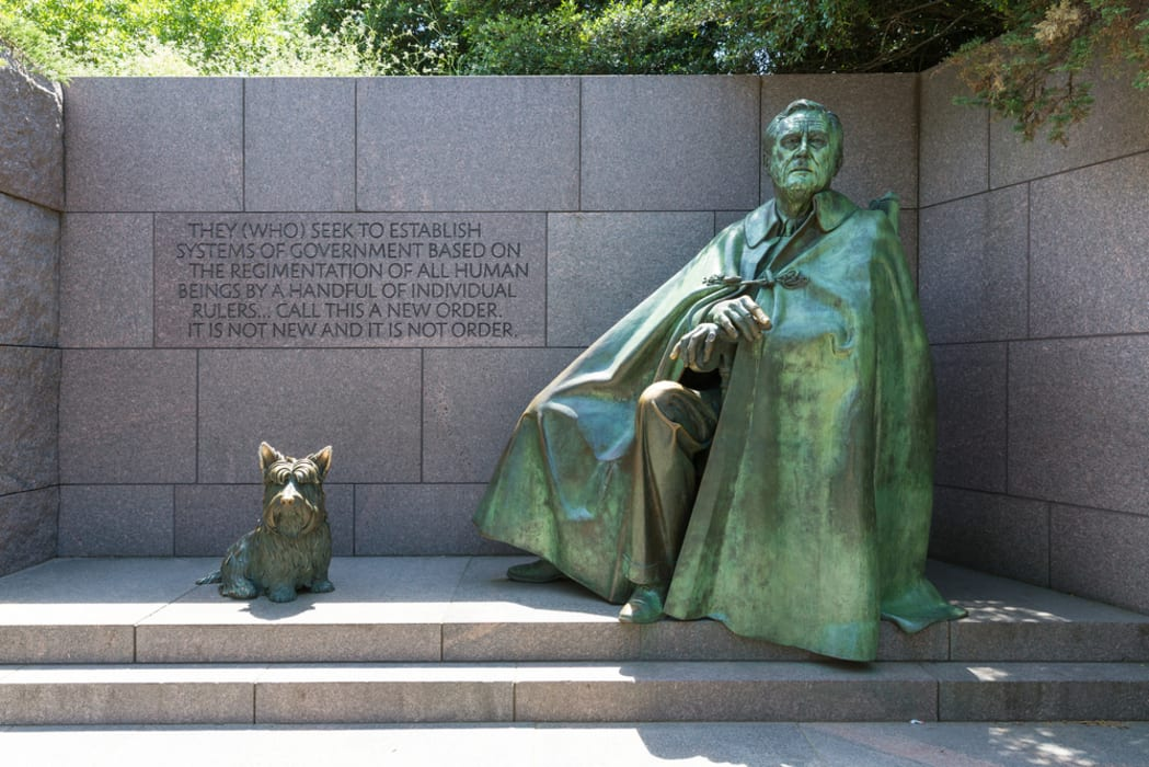 Washington D.C. - Memorials Close-Up Special Edition: Franklin Delano Roosevelt Memorial (only)