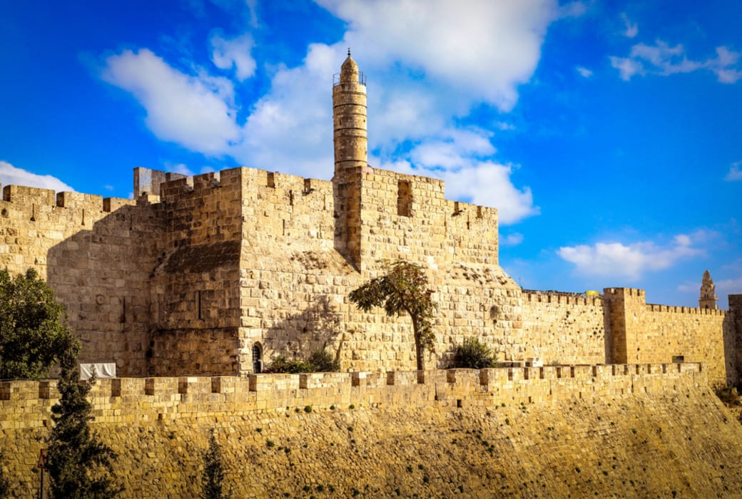 Jerusalem - The Southern Ramparts of the Old City!