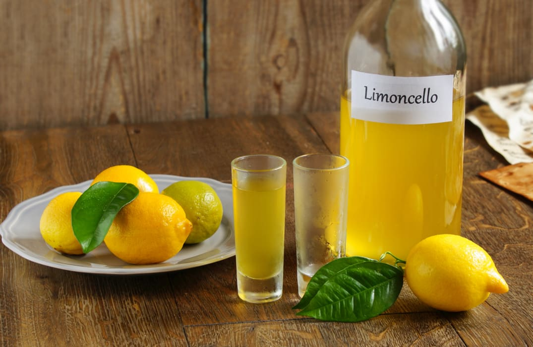 Rome - Homemade Limoncello