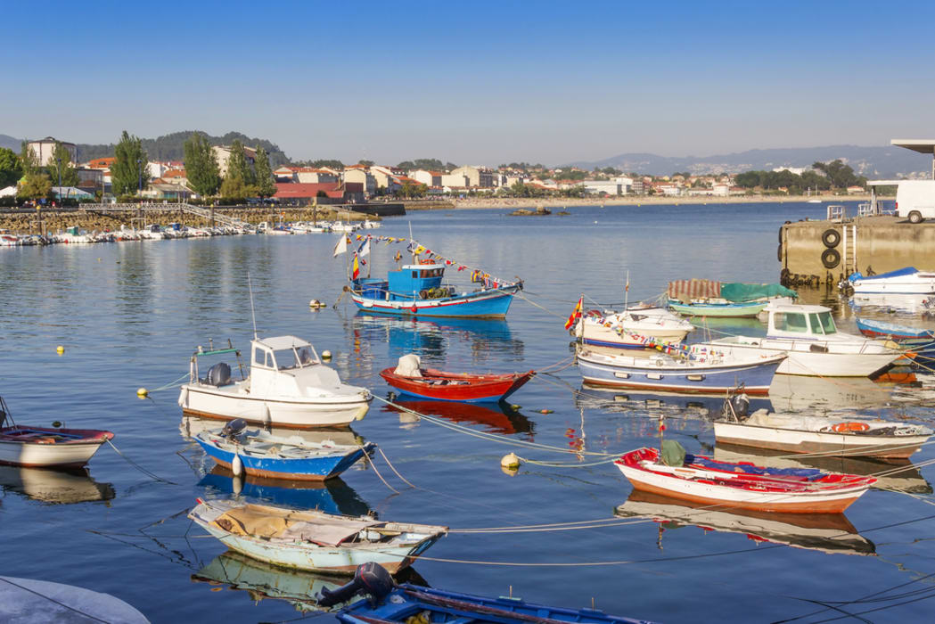 Galicia - A Walk through the Fishing village of Cangas do Morrazo
