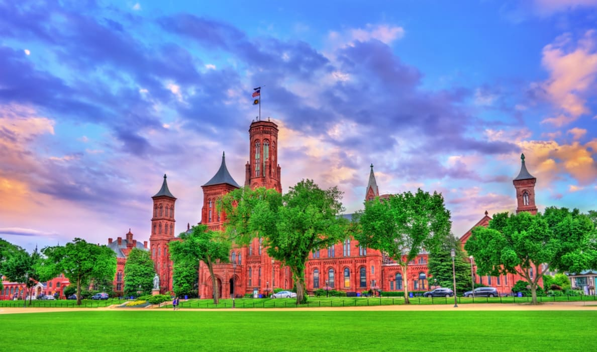 Washington D.C. - National Mall and the Smithsonian Institution - Part 2 (West)